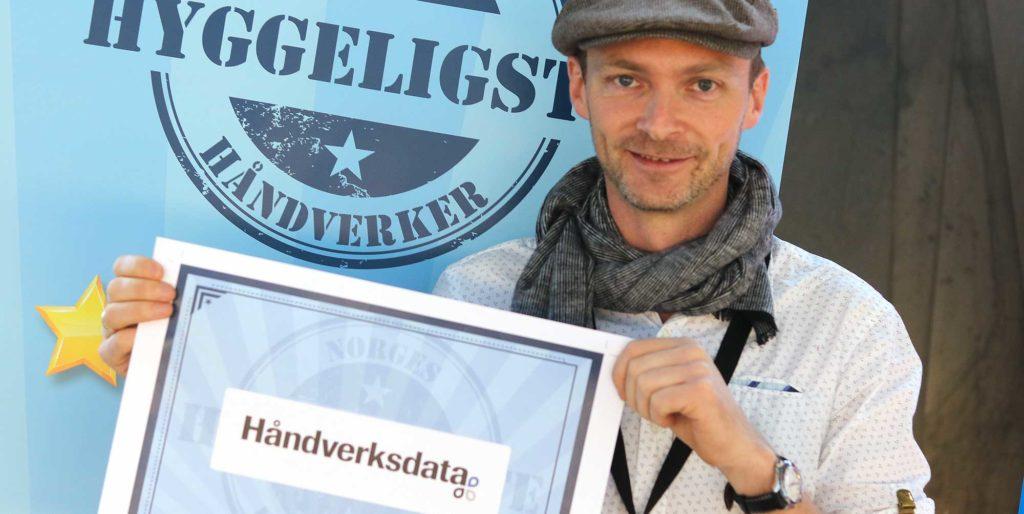 Sveinung Tofteland Norges hyggeligste håndverker