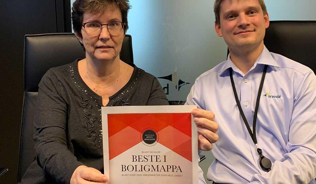 Bravida i Norgestoppen på bruk av Boligmappa