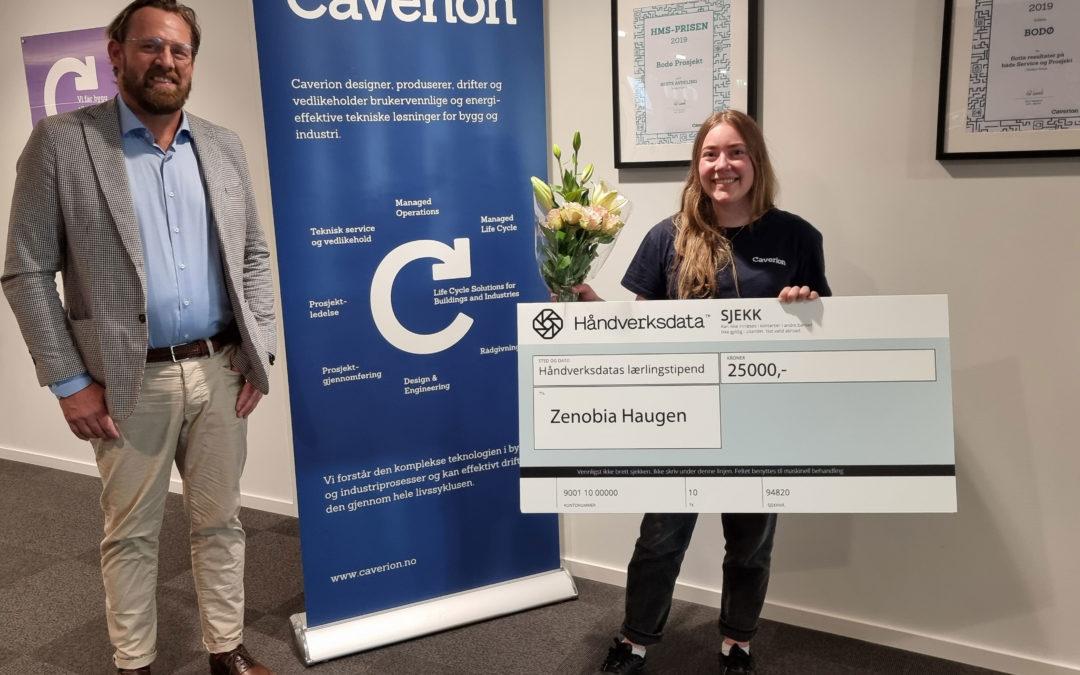 Zenobia er vinneren av Håndverksdatas lærlingstipend 2021